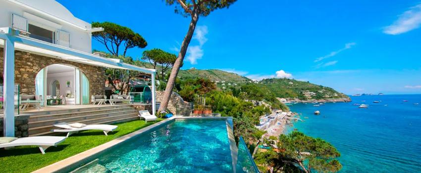 Villa Baroque, Amalfi Coast, Italy