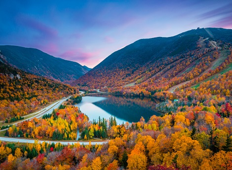 Insight Vacations 8D New England's Fall Foliage