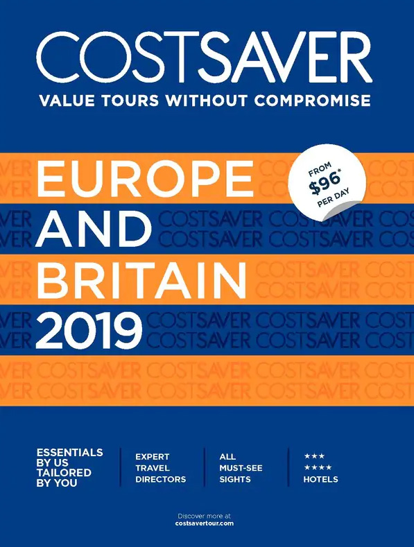 Costsaver Europe and Britain 2019